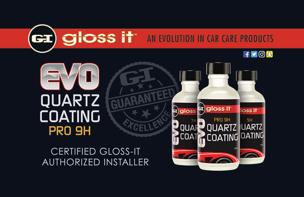 GLOSS IT EVO QUARTZ CERAMIC COATINGS
